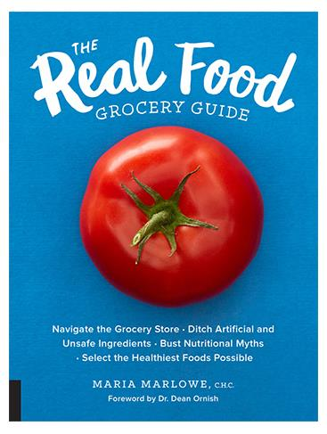 Maria Marlowe's Real Food Grocery Guide, reviewed in vegetariangazette.com
