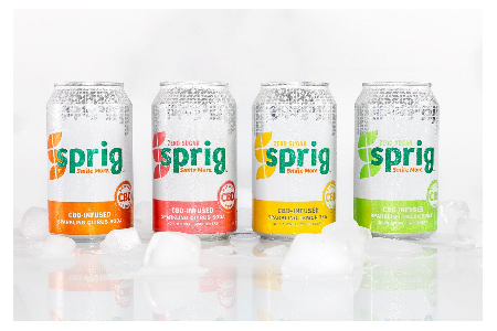 CBD-infused Sprig Seltzer offers  Summer cocktail recipes